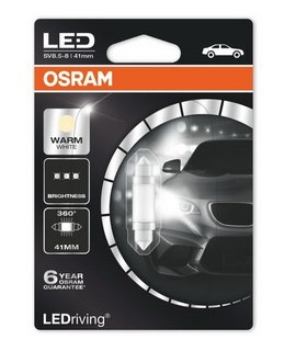 OSRAM Premium - Festoon 41mm - C5W / 4000K - 6499WW (2313) (до изчерпване)